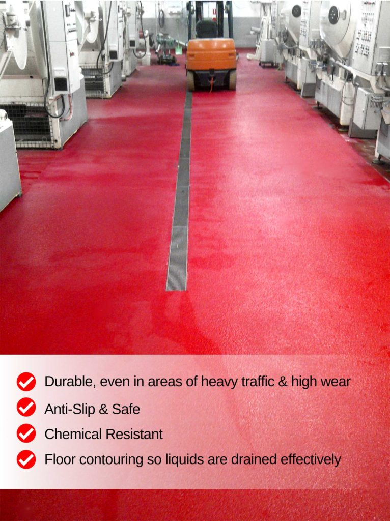Abattoirs & Meat Processing Factories | Allied Finishes, Commercial Flooring Solutions