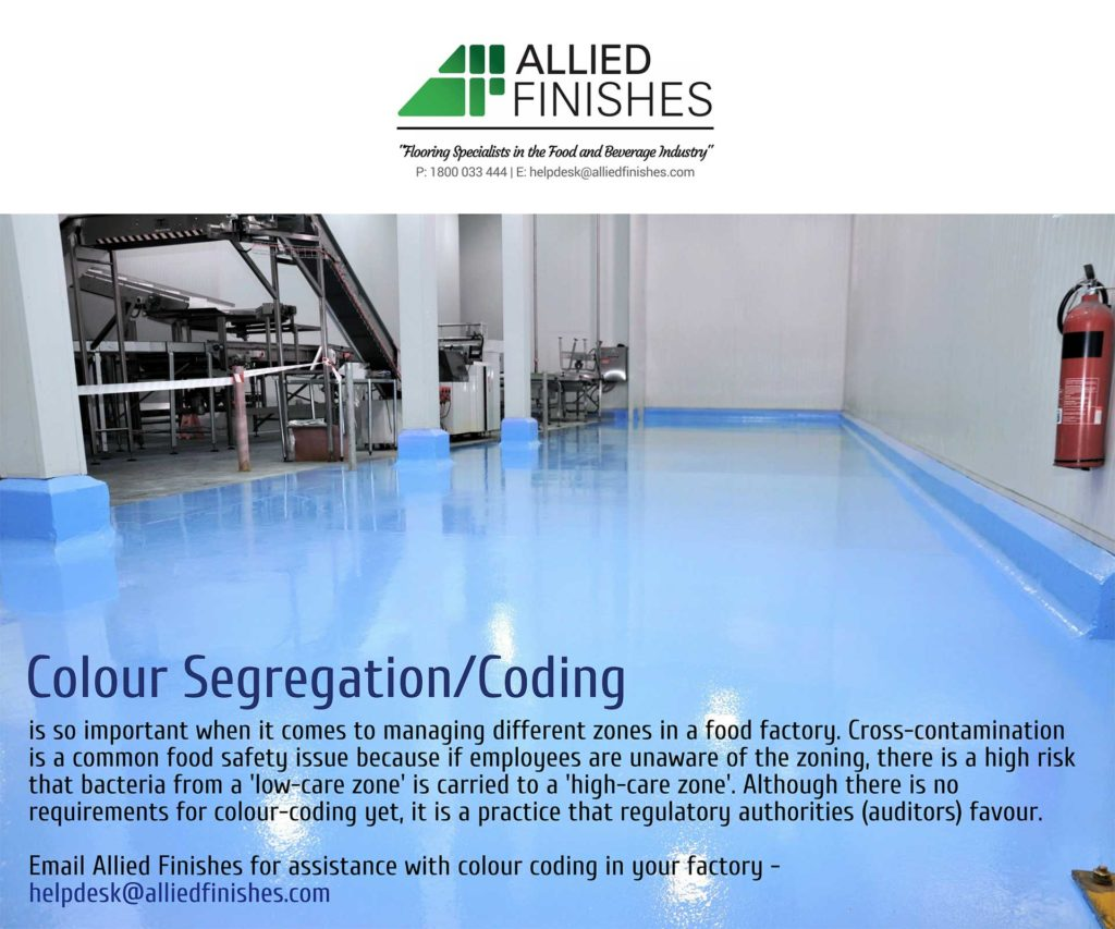 Colour Segregation | Allied Finishes, Commercial Flooring Solutions