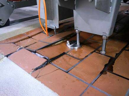 Cracked Floors Encourage Salmonella | Allied Finishes, Commercial Flooring Solutions