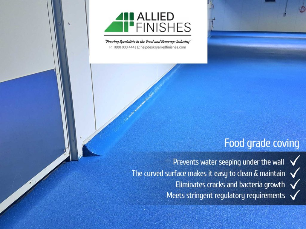 Food Grade Coving | Allied Finishes, Commercial Flooring Solutions