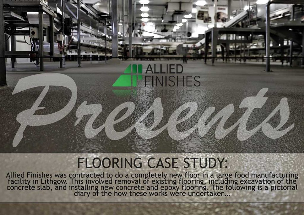 Food Manufacturing Case Study | Allied Finishes, Commercial Flooring Solutions