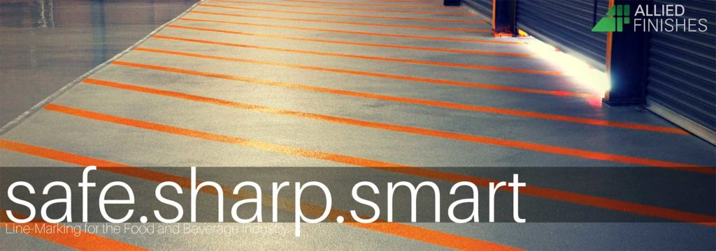 Line Marking Banner   Allied Finishes, Commercial Flooring Solutions