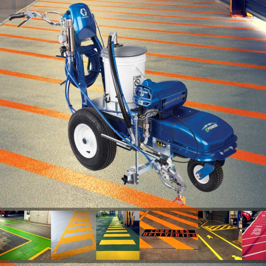 Line Marking Equipment   Allied Finishes, Commercial Flooring Solutions