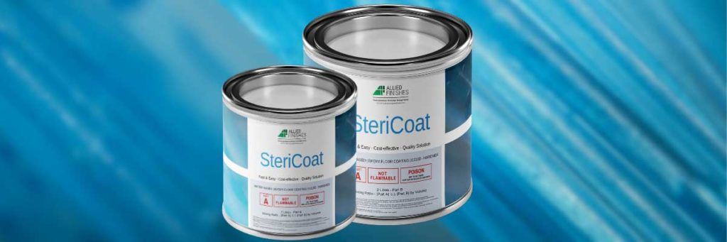 SteriCoat Product | Allied Finishes, Commercial Flooring Solutions